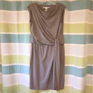 Diane vonFurstenberg Silver Dress
